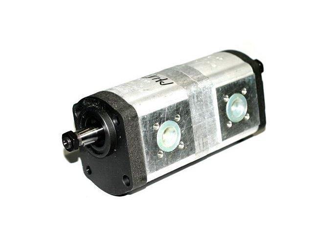 Tandemové hydraulické čerpadlo zubové  PH18 KHD 16+14 CC