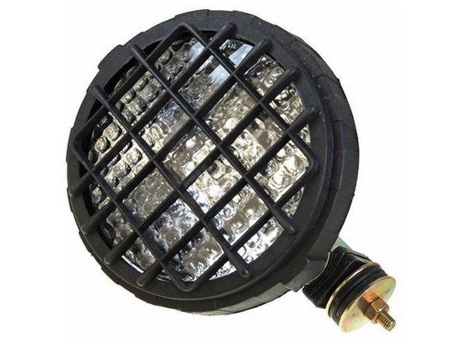 Pracovní světlomet kulatý s vypínačem
