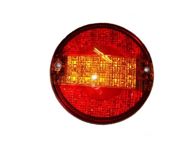 LED světlo zadní sdružené kulaté třídílné 12/24 VDC
