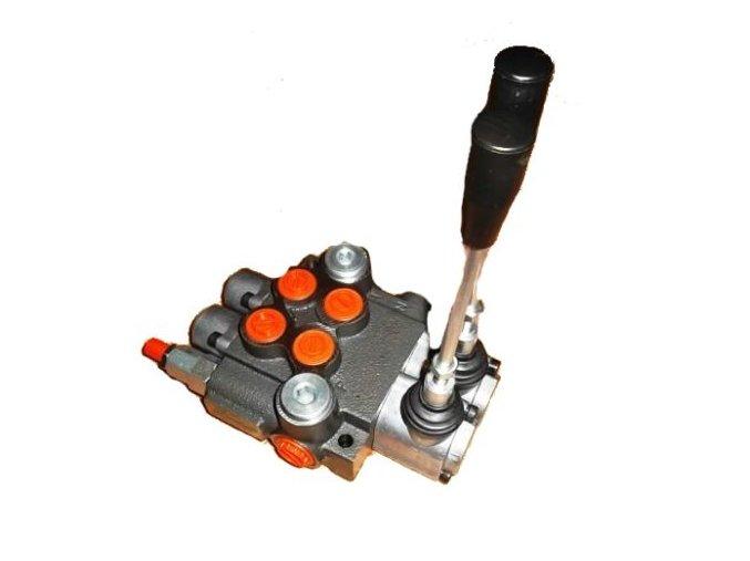 Hydraulický rozvaděč 2/40 s jednočinnou sekcí