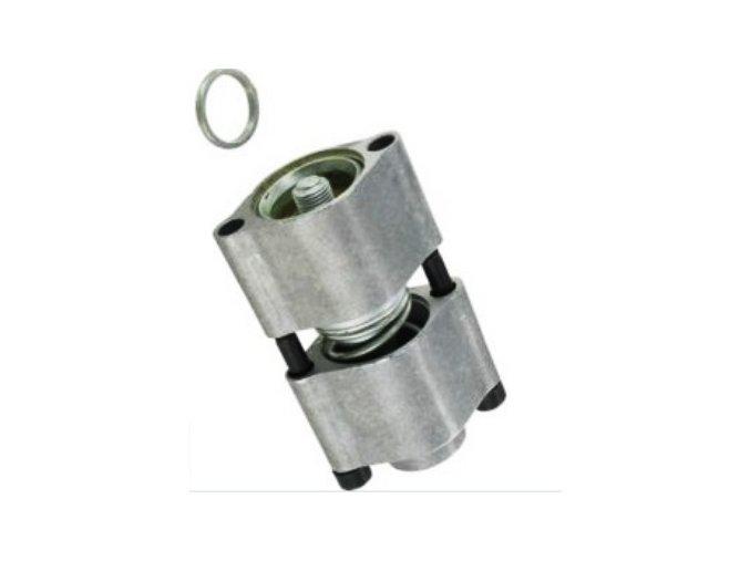 Zámek šoupátka F2  s aretací v jedné pracovní poloze pro rozvaděče 40 l/min