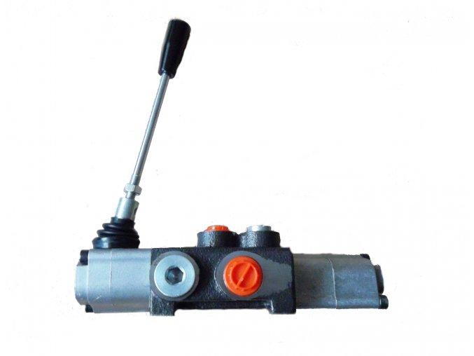 Hydraulický rozvaděč 1/40 jednočinný s jednostrannou aretací
