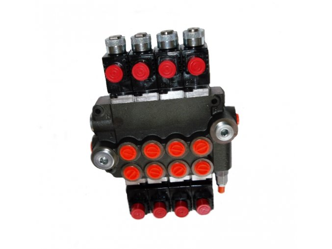 Hydraulický rozvaděč elektricky ovládaný 4/80 24 VDC