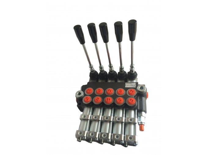 Hydraulický rozvaděč 5/40 pneumaticky ovládaný