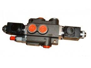 Hydraulický rozvaděč elektricky ovládaný 1/50  Z50 D ES3 12VDC G otevřený střed