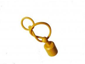 Prachovka zástrčky  ISO 12,5  žlutá