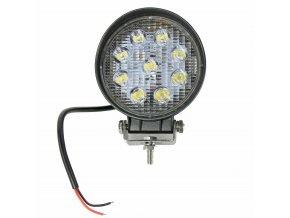 LED pracovní světlomet kruh 27 W