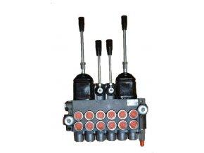 Hydraulický rozvaděč 6/40 s dvěma joysticky