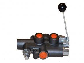 """Hydraulický rozvaděč dvourychlostní """"TURBO"""" pro štípačky dřeva  P81-Rs-G12"""