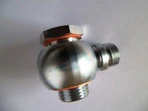 Přípojka stavitelná kompl. G1/2''-M18x1,5 průtok. oko, průtok. šroub