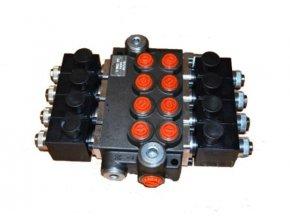 Hydraulický rozvaděč elektricky ovládaný 4/50  24 VDC