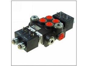 Hydraulický rozvaděč elektricky ovládaný 2/80  12 VDC