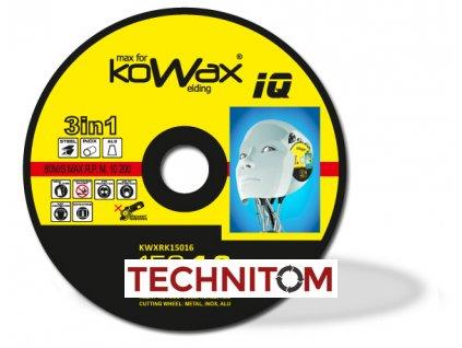 rezny kotouc KOWAX IQ 3v1 150x16 1