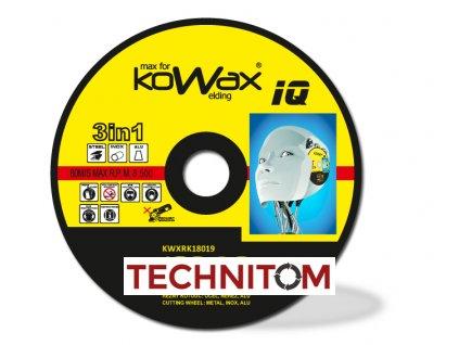 rezny kotouc KOWAX IQ 3v1 180x19