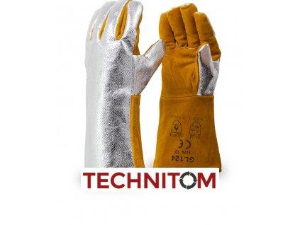 GL124 rukavice 250°C