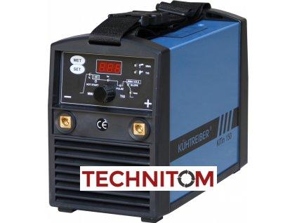 KITin 150 TIG LA na elektrodu a TIG  + 2,5 kg bazických elektrod 2,5mm