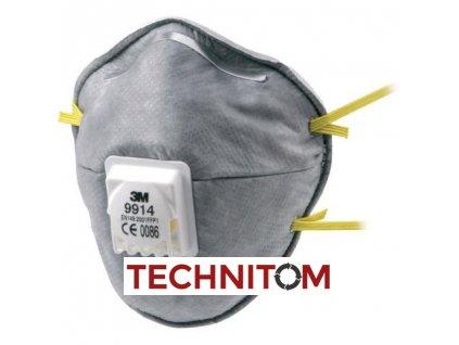 9914 GT500077992 respirator P1 3M