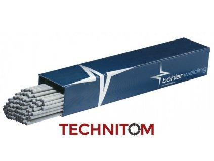 Böhler FOX OHV - rutil-celulózová elektroda - ohebná