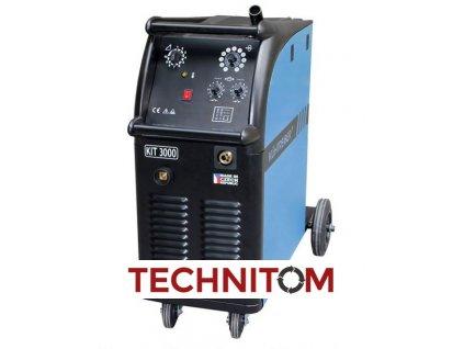 KIT 3000 MIG/MAG  + ZDARMA lahev CO2/Argon + trubičkový drát 1kg