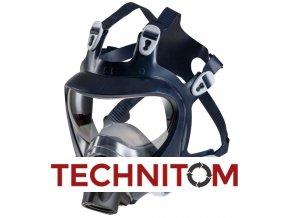 Celoobličejová maska Shigematsu CF02  + 1 x filtr P3 R