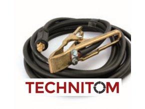 Zemnící kabel osazený - varianty