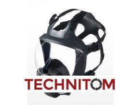 Celoobličejová maska Shigematsu FS01