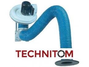 Odsávací sada Kitarm Standard 2-3m pro svařování a broušení bez filtrace