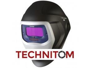 Kukla Speedglas 9100V bez bočních průzorů  + 1 folie vnější ZDARMA