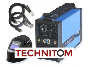 KITin 150 na elektrodu  + 2,5 kg bazických elektrod 2,5mm
