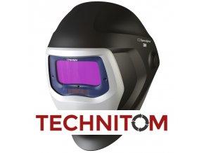 Kukla Speedglas 9100X bez bočních průzorů  + 1 folie vnější ZDARMA