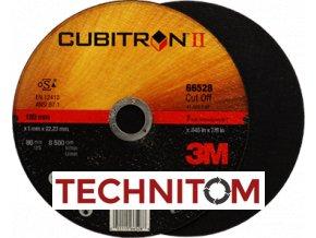 Řezný kotouč 115 mm CUBITRON II  nejvíce řezů na trhu