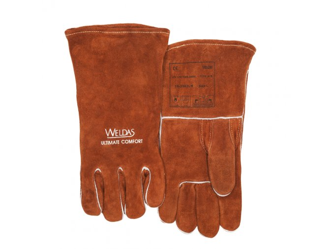 WELDAS ZVÁRACIE rukavice MIG 10-2392 Weldas