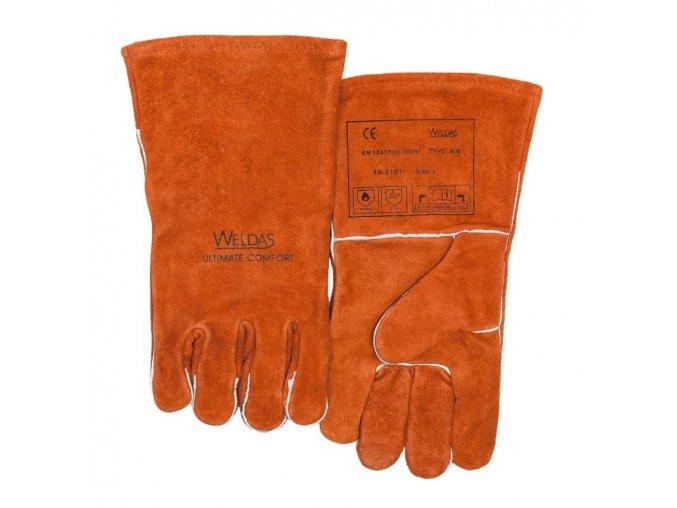 WELDAS Zváračské rukavice 10-2101