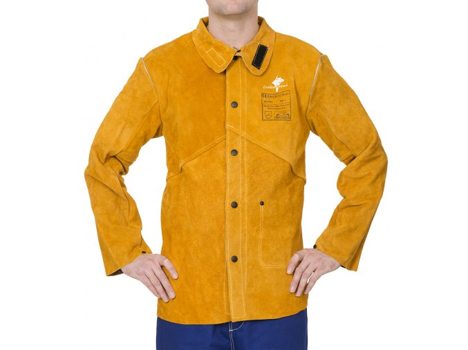 Zvárací kabát Golden Brown