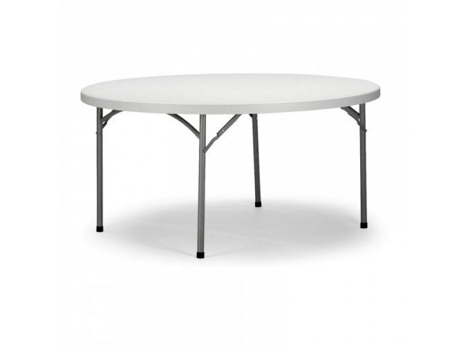 Cateringový skládací stůl, průměr 1500 mm