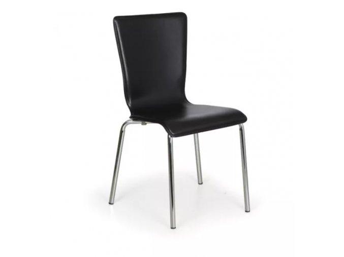 Jídelní židle Caprio, černá 1
