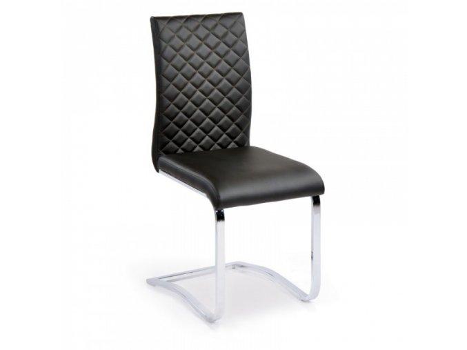 Jídelní židle Ritz, černá, 4 ks