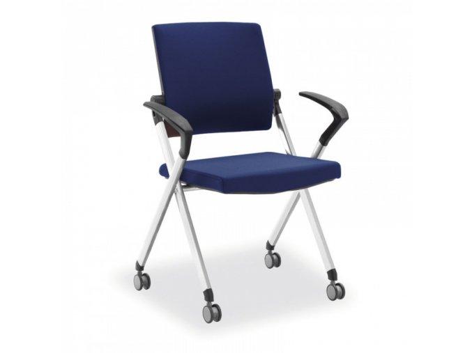 Konferenční židle Flexim, modrá