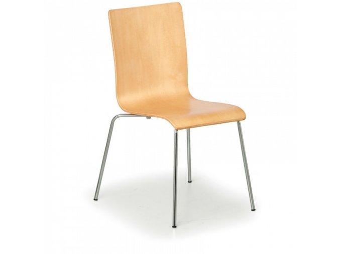 Dřevěná židle CLASSIC, přírodní