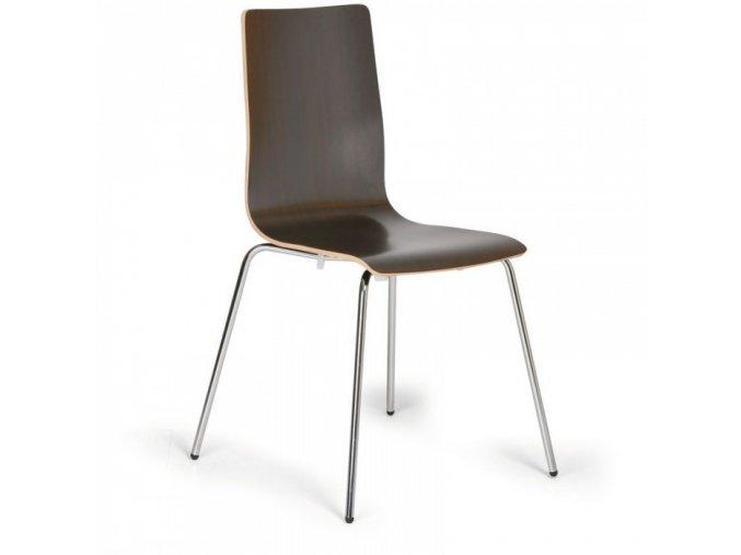 Dřevěná jídelní židle KENT, wenge