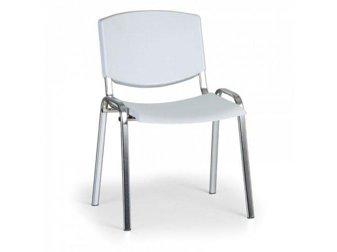 Konferenční židle EUROSEAT Smile, šedá