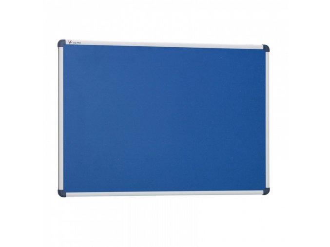 Viz Pro Modrá textilní nástěnka 180 x 120 cm