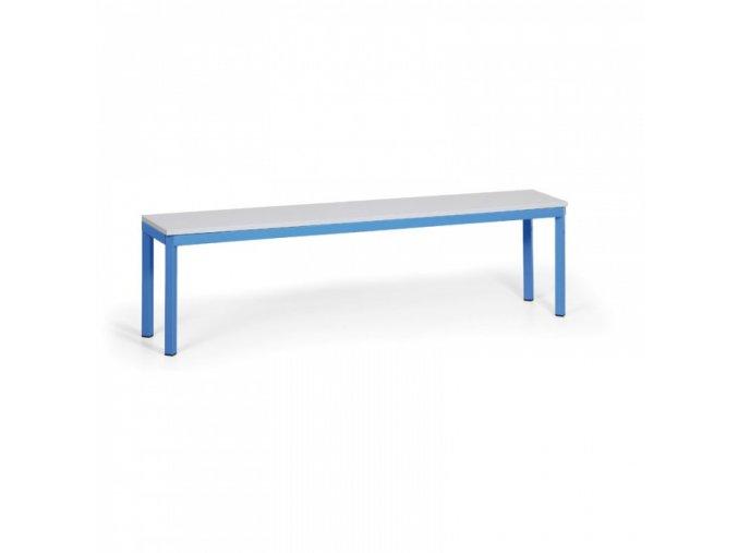 šatní lavička, sedák - lamino, délka 1500 mm