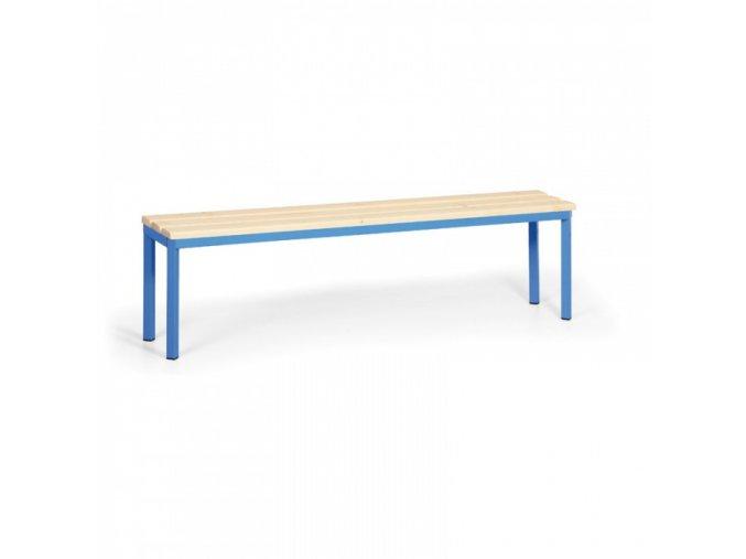 Šatní lavička, sedák - latě, délka 1500 mm