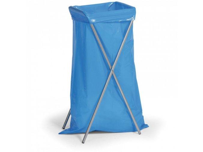 Skládací stojan na odpadkové pytle
