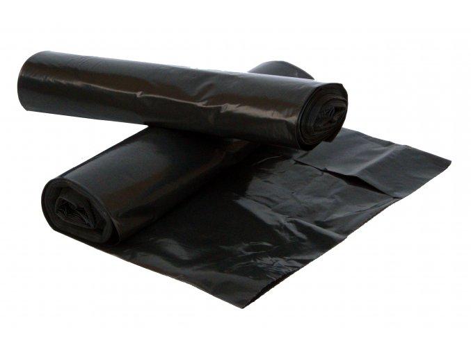 Pytle na odpad 120 l černé 80 mic