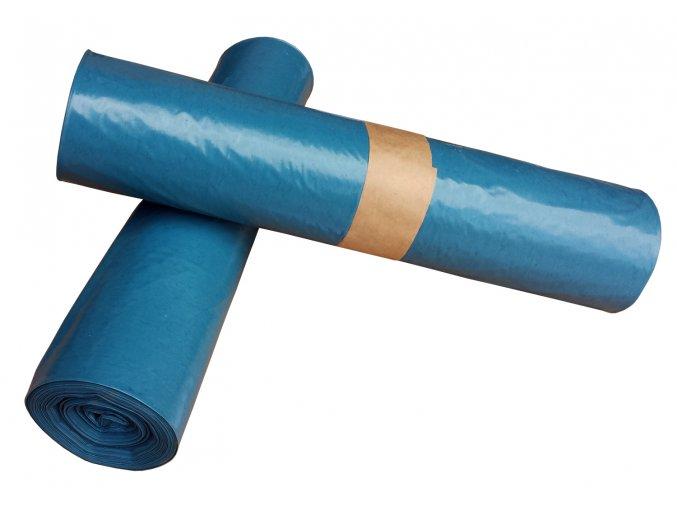 Pytle na odpad 120 l modré 50 mic
