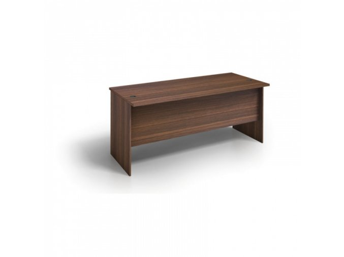 MIRELLI A+ Kancelářský stůl, ořech, 1600 x 800 x 750 mm
