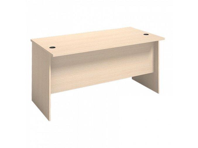 MIRELLI A+ Kancelářský stůl, bříza, 1400 x 800 x 750 mm