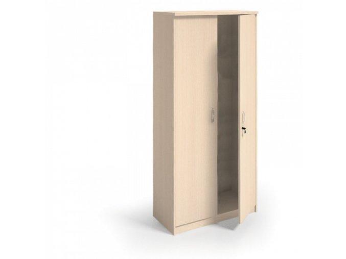 MIRELLI A+ Šatní skříň, bříza, 800 x 400 x 1800 mm